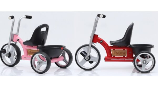 rask ladcykel til børn retro ladcykel til piger 600x338 - Trehjulet cykel - cykel til 2-4 årige