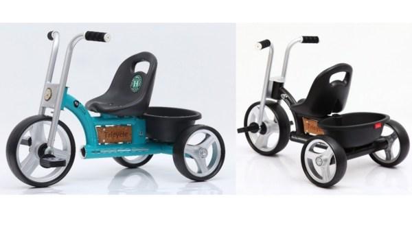trehjulet cykel med lad retro trehulet cykel 600x338 - Trehjulet cykel - cykel til 2-4 årige