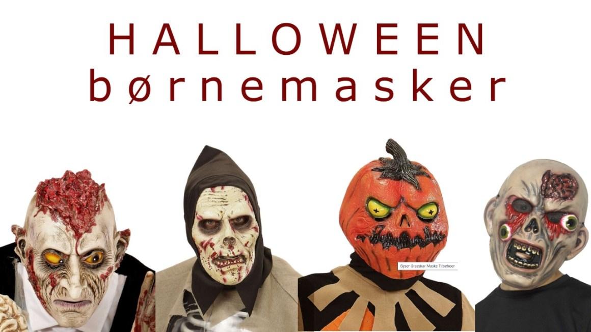 halloween børnemaske halloween maske barn halloween maske til børn