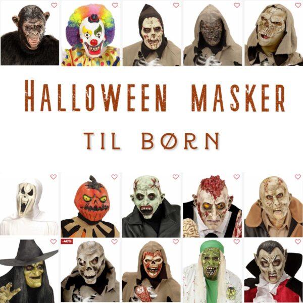 halloween maske barn halloween maske børn halloween billig udklædning halloweenmaske barn halloweenmaske børn halloween børnemaske