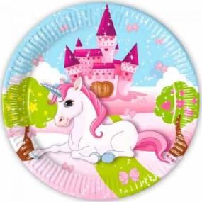 1564227294 tallerkner enhjorning fodselsdag w380 h380 - Unicorn tema fest