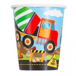 papkrus byggeplads fødselsdag lastbil fødselsdag gravemaskine børnefødselsdag