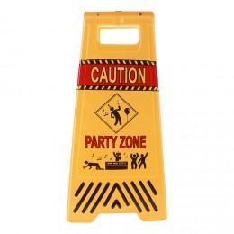 advarselsskilt byggeplads børnefødselsdag