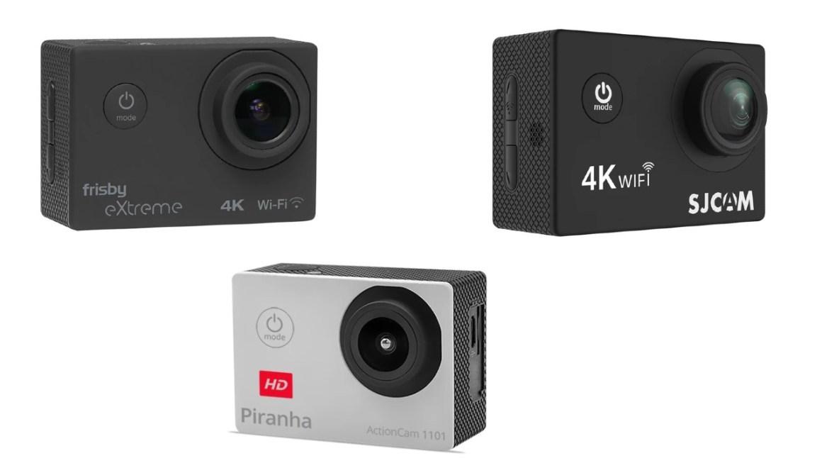 Alternativ til GoPro aktionkamera