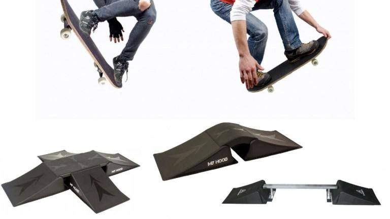 skateboard rampe my hood rampe til løbehjul