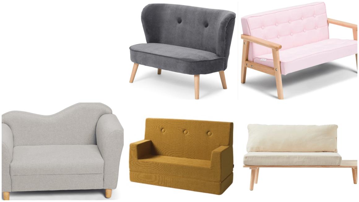 Børnesofa – sofa i børnestørrelse