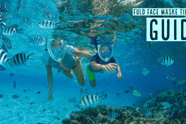Guide: Full face snorkelmaske til børn