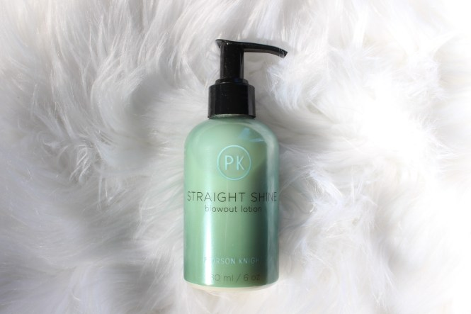 Shop with Kendallyn, PK by Pearson Knight, Straight Shine Blowout Lotion, blogger, blog review, gift guide, beauty