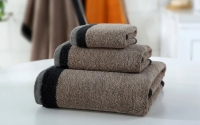 Piedra brown towel set