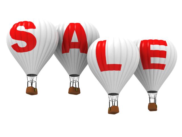 Sale balloons to celebrate Amazon Prime Days