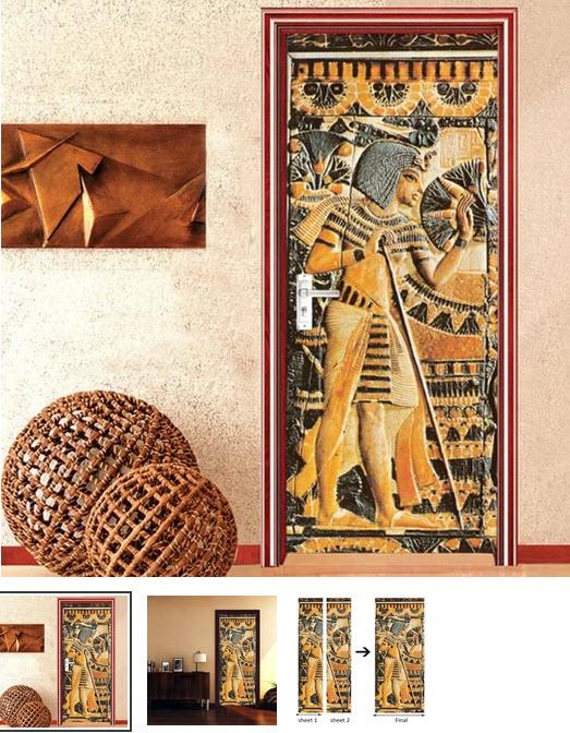 Pharaoh door covering