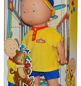 Caillou Doll and Caillou Learning Train Review