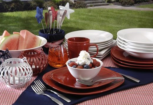 Oneida Entertaining Tips For the  Fourth Of July!