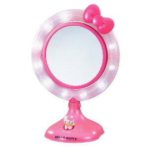 Hello Kitty Light Up Makeup Mirror Review