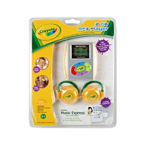 Crayola Mp3 2GB Player Review
