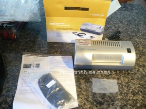 GBC ID Badge Laminator Kit Review And Giveaway