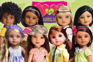 Playmates Toys: Hearts For Hearts Doll And Build a Bear Workshop Playset