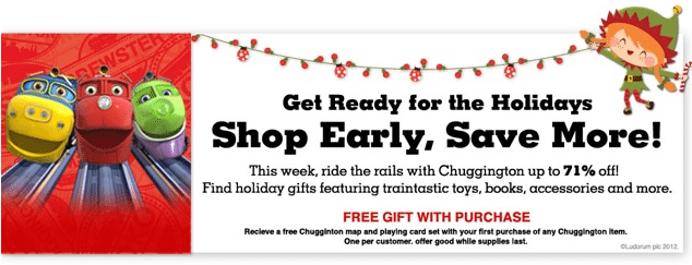 Totsy Toy Thursday Event: Ride The Rails With Chuggington! Up To 71% Off