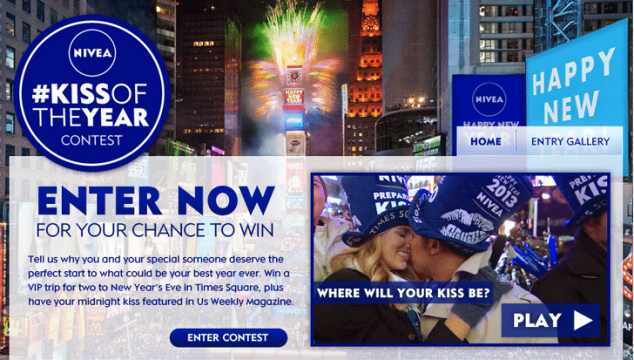 NIVEA's Kiss of the Year Contest!