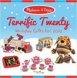 Melissa & Doug Terrific Twenty List and Giveaway!!