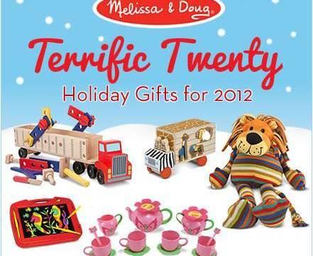 Melissa & Doug Terrific Twenty List and Giveaway!!