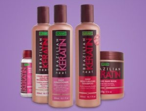NAAT Brazilian Keratin Hair Care Products (Review)