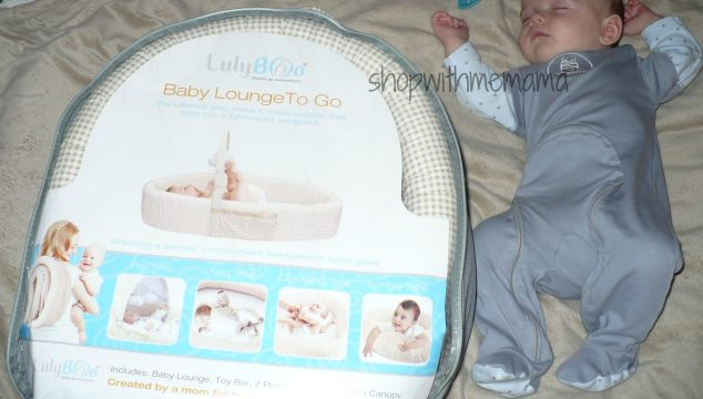 Lulyboo Baby Lounge To Go (Review)