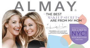 I Am An Almay Spokesperson! Yippee!