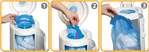 Keep The Nursery Fresh Smelling With The Munchkin Arm and Hammer Diaper Pail