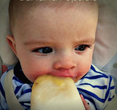 Breast Milk And Banana Popsicles! Yum! #breastmilk