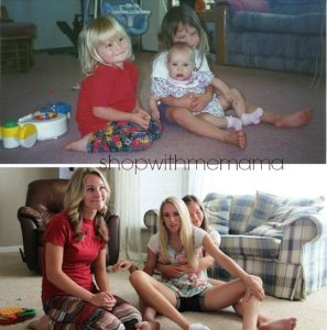 Hilarious Photo Recreations From Then To Now!