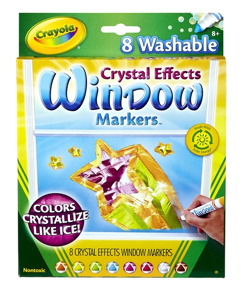 Crayola Crystal Effects Window Markers