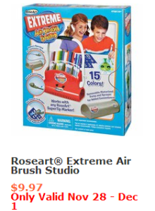 RoseArt Extreme AirBrush Studio #BlackFriday #Deals