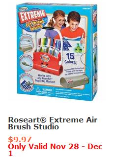 RoseArt Extreme AirBrush Studio #BlackFriday #Deals