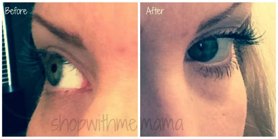 before and after pictures using benefits they're real! mascara