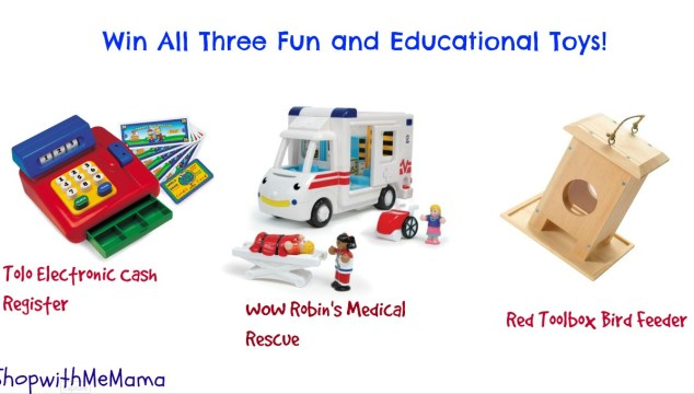 Toys That Combine Extended Play Value with Educational Value