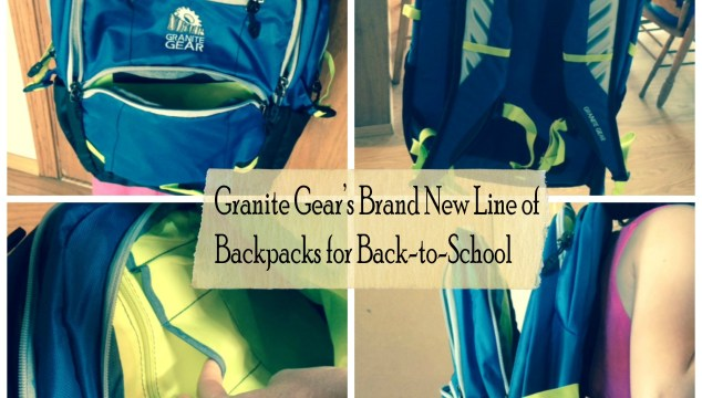 Granite Gear's Brand New Line of Backpacks for Back-to-School!