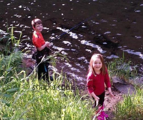 fishing summertime fun