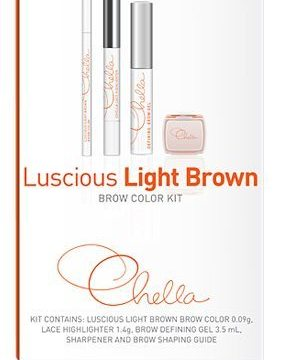 Chella Eyebrow Color Kits for Everyday Beauty