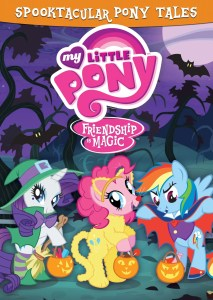 My Little Pony: Spooktacular Pony Tales on DVD Today, 9/9!