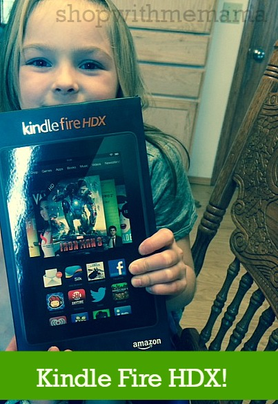 Kindle Fire HDX sold at Staples