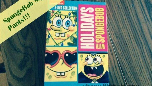 SpongeBob SquarePants: Holidays With SpongeBob (Giveaway)