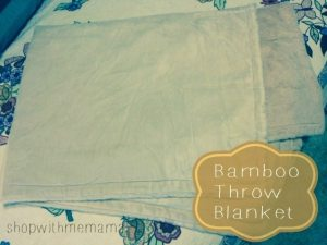 Bamboo Throw Blanket #giftguide
