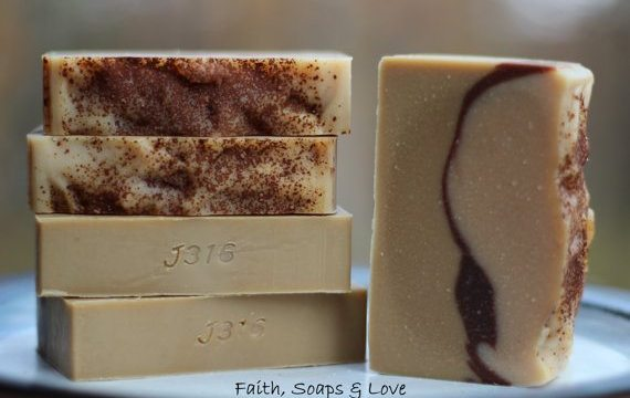 Faith, Soaps & Love Handmade Soap  #giftguide