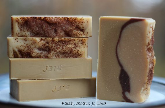 Sandalwood Goats Milk handmade soap