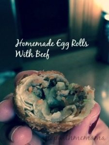 Homemade Egg Roll Wraps #Appetizer