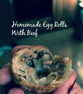 Homemade Egg Roll Wraps #Appetizer