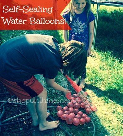 Self-Sealing Water Balloons!
