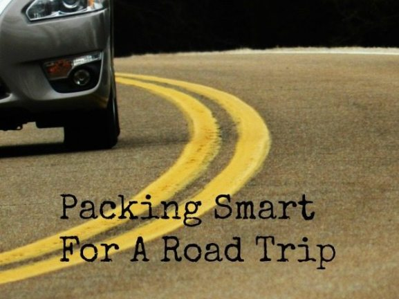 packing smart for a road trip