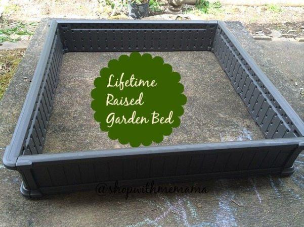 Lifetime Raised Garden Bed